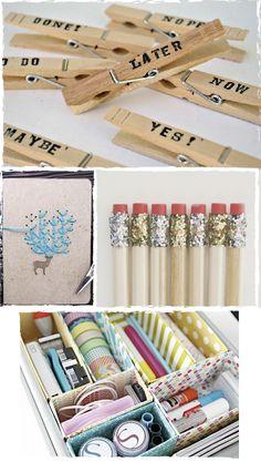 """Dare to DIY: Inspiración DIY: Back to School / back to """"the ofi"""""""