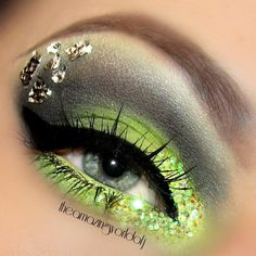 Green & Gold Eye