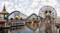 Paradise Pier, Disney California Adventure Park, Disneyland, California
