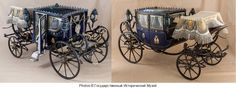 A beautiful miniature carriage built for the children of Emperor Alexander II has been restored and put on display at the State Historical Museum in Moscow. Restoration work took place between 2010 - 2014 years, and included a full restoration of the metal, wood, leather and textile elements of the historic children's carriage. ROYAL RUSSIA: News, Videos & Photographs About the Romanov Dynasty, Monarchy and Imperial Russia - Updated Daily