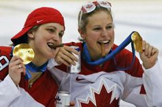 THEY DID IT AGAIN!! Canada Women's Hockey Team... those girls were awesome!
