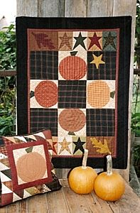 Pumpkin Country Wall Quilt Pattern
