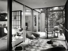 the century residences | course the interiors were carefully chosen to respect the mid century ...