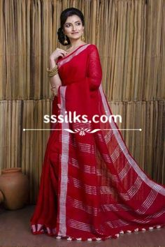 Our weaver specially made wholeheartedly for the women by using materials such as organic linen, natural zari, natural dyes. Pure Silk Sarees, Handloom Saree, Sari, Pure Products, Dyes, Formal Dresses, Organic, Natural, Women
