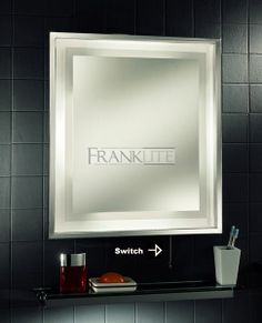 Franklite FRN30EL IP44 Illuminated Bathroom Mirror