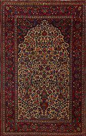 Matt Camron Rugs & Tapestries Antique Persian Kashan Rug