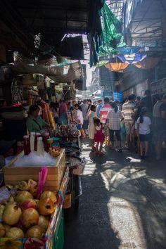 Street markets, Bangkok, Thailand