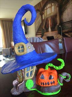 Halloween house of clay