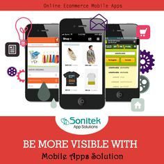 Increase your reach with the right mobile app solutions. Know more here: www.sonitekapps.in  #sonitekapps #mobileapps #iphoneapps