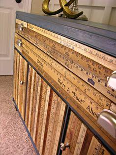 Elegant DIY: Yardstick Buffet   Recyclart Images
