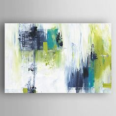 Oil Painting Modern Abstract Hand Painted Canvas with Stretched Framed 4819846 2017 – $107.52