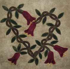 firefly needles and threads: wool applique