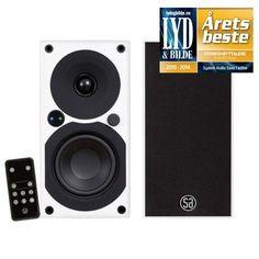 System Audio Saxo 1 Active trådløs høyttaler - Hvit høyglans - Trådløs høyttaler - Høyttaler