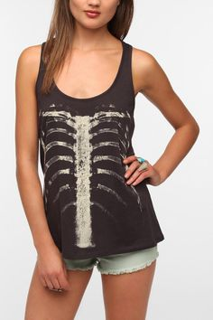 Workshop Ribcage Tank Top  #UrbanOutfitters