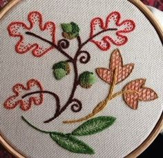 RSN Crewel Embroidery