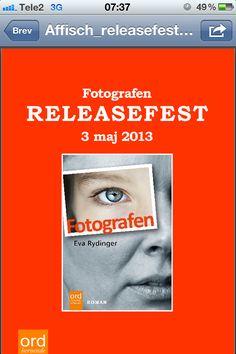 Idag release! Galet!