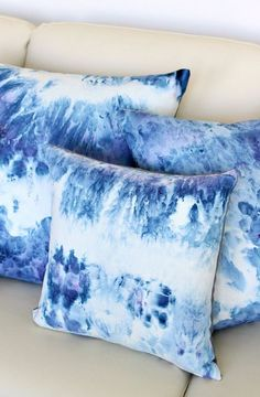 how to ice dye diy ice dye pillows, how to