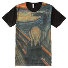 Scream by Munch All-Over-Print T-Shirt - tap to personalize and get yours