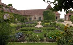 Kitchen garden | Jardin potager de Bois Richeux (Eure et Loir) DSCN8489, via Flickr.