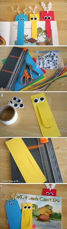 cute little bookmarks