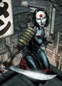 Cyberpunk, Cyborg, Future, Girl Warrior, comicblah: Katana cover by David Finch - Visit to grab an amazing super hero shirt now on sale! Batgirl, Catwoman, Katana, Marvel Comics, Hq Marvel, Cosmic Comics, Marvel Cinematic, Comic Book Covers, Comic Books Art