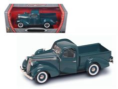 1937 Studebaker Express Pickup Green Or  Burgundy 1/18 Diecast Model Car by Road Signature