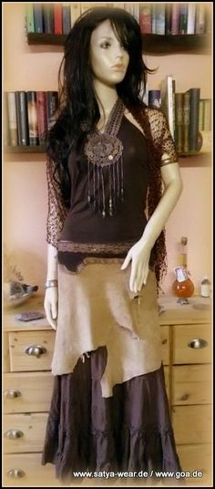leder rock mit spitzenborte Goa, Outfit, Lace Skirt, Skirts, Fashion, Middle Ages, Leather, Outfits, Moda