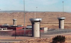Fortress-like: The super-maximum-security federal prison in Florence, Colorado, where Abu Hamza is expected to be held Lower Manhattan, World Trade Center, Supermax Prison, Prison Officer, Survival Blog, Boston, Solitary Confinement, Federal Prison, Lock Up