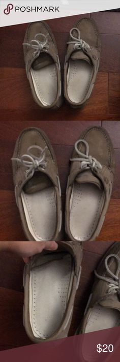 Timberland genuine leather boat shoes size 8 in good condition. Timberland Shoes Boat Shoes