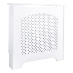 Cambridge Mini White Traditional Radiator cover - B&Q for all your home and garden supplies and advice on all the latest DIY trends Painted Radiator, Traditional Radiators, Little Houses, Cambridge, Accent Chairs, Home Improvement, Interior Decorating, New Homes