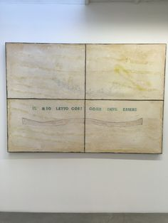 Kamel Mennour Gallery: Pier Paolo Calzolari:Ensemble exhibition. 'Untitled',(2016)