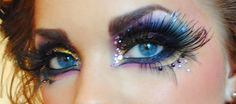 Extreme Showgirl Costume Makeup