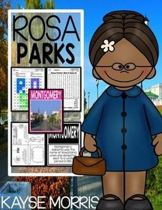 Black History Month might be over, but now it's Women's History Month, which is another great reason to teach about Rosa Parks! My mini-unit employs many different types of engaging activities and lessons to teach about the life and fame of Rosa Parks, so click through to read more details about what's included in this unit!