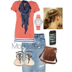 Cute, created by modesteen on Polyvore