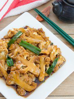 Mongolian Cauliflower | Kirbie's Cravings | A San Diego food & travel blog