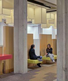 Image 7 of 13 from gallery of York University Learning Commons / Levitt Goodman Architects. Photograph by Bob Gundu