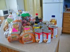 Kate's Kitchen: Daniel Fast: Getting the groceries