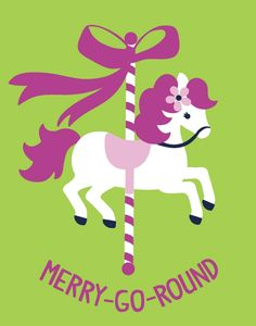 1000 images about merry go round on pinterest carousels for Merry go round horse template