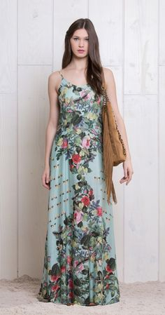 Vestido largo de verano. Antix