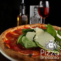 Today's Chef's reccomendation is Pizza Bresaola. °°°°°°°°°°°°°°°°°°°°°°°°°°°°°°°°°°°°°°°°°°°°°°°°°°°°°°°°°°°°° Our pizza's toppings are always made with the finest ingredients from Italy. Bresaola is a regional Italian speciality of cured beef fillet from Lombardy. A raw beef fillet is cured in salt then air-dried for several months, during which time it turns a deep red colour.    #Lebanon #Beirut #lebanese #livetrueleb #lebanonfood #Jounieh