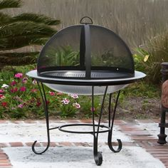 WT Living Stainless Steel Cocktail Outdoor Patio Fire Pit Price: $ 118.00