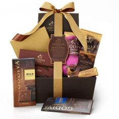 Chocolate Bliss Gift Basket - http://www.specialdaysgift.com/chocolate-bliss-gift-basket-2/