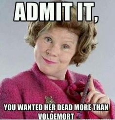 harry potter, harry potter and the order of the phoenix, dolores umbridge