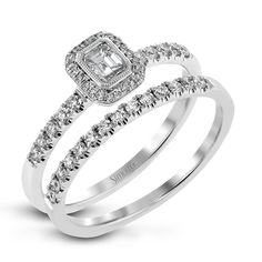 LR1103 Engagement Set from Simon G. Jewelry