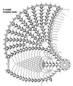 jest z 3 Poisk — Yandex. Crochet Table Runner Pattern, Crochet Bedspread Pattern, Free Crochet Doily Patterns, Crochet Doily Diagram, Crochet Mandala, Crochet Tablecloth, Crochet Squares, Filet Crochet, Crochet Motif