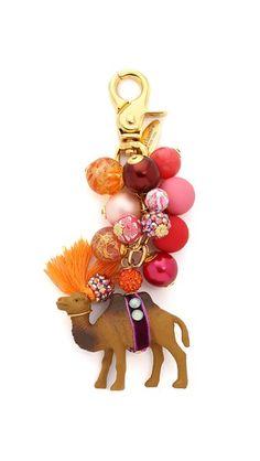 Lenora Dame Camel Bag Charm