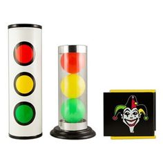 An essential item for kid magicians and clowns! The tube and balls can be used as a stand-alone magic show! Use the tubes to change ball order and vanish ball