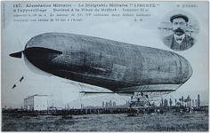 Lebaudy airship La Liberté 1909