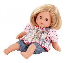Götz Puppenmanufaktur Badepuppe Cosy Aquini blonde Haare 33 cm