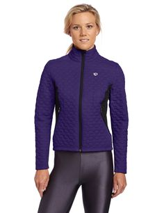 Pearl Izumi Women's Insulator Jacket, Medium, Blackberry. Spring/Summer 2014. SELECT Thermal fabric sets the benchmark for moisture transfer and warmth. Full length internal draft flat with zipper garage seals in warmth.
